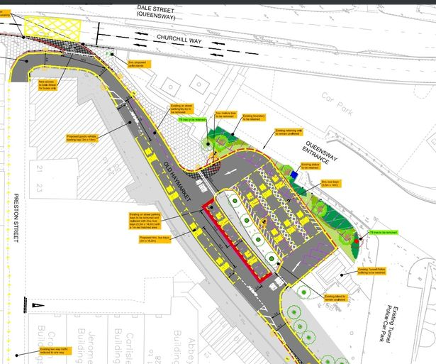 Old Haymarket Proposal Plan