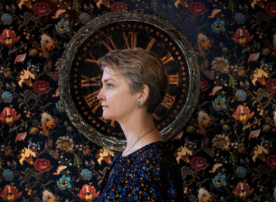 Yvette Cooper, MP for Normanton, Pontefract and Castleford, by Hannah Starkey