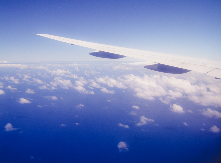 Boeing Plane Wing