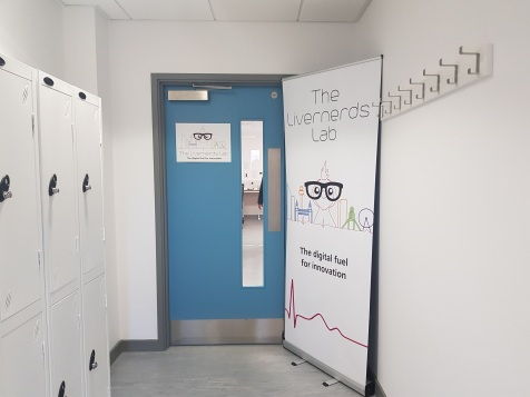 Livernerds Lab entrance